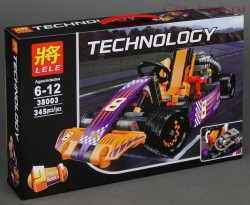Конструктор LELE Technology Гоночный карт 38003 (Аналог LEGO Technic 42048) 345 дет